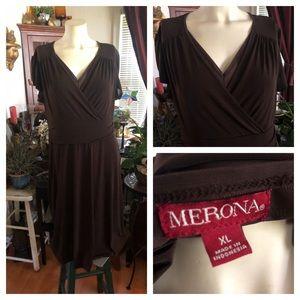 Brown Dress MERONA XL